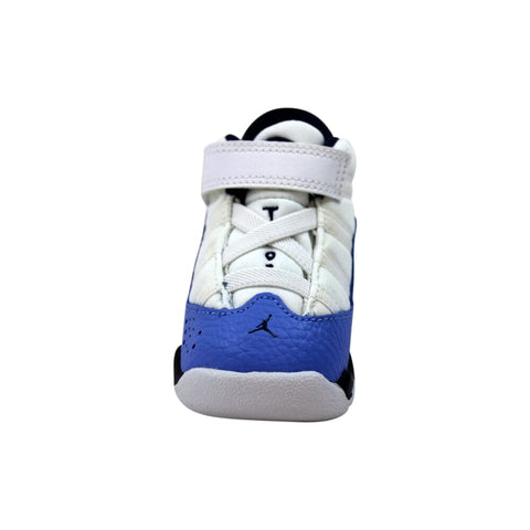 Nike Air Jordan 6 Rings White/Midnight Navy  942780-115 Toddler