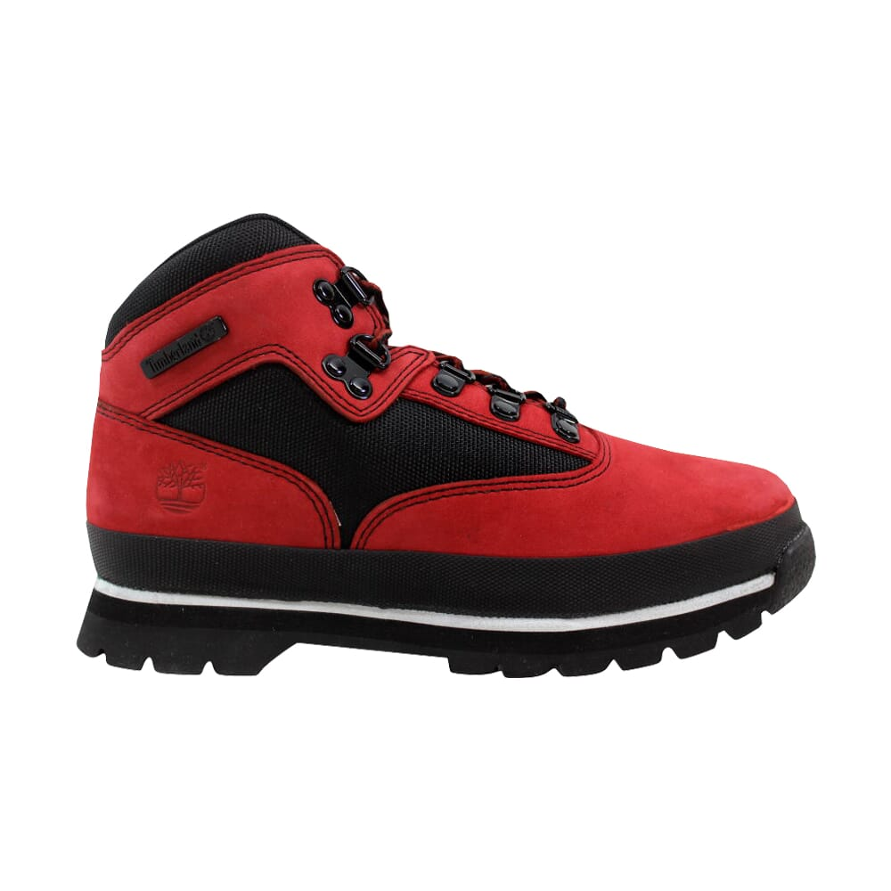 Timberland Euro Hiker Red/Black 9676R Pre-School