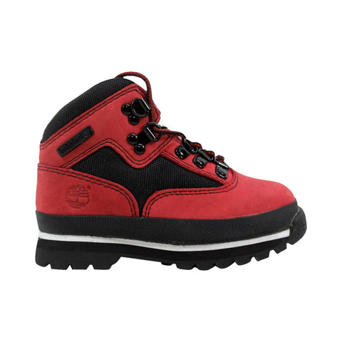 Timberland Euro Hiker Red/Black 9686R Toddler