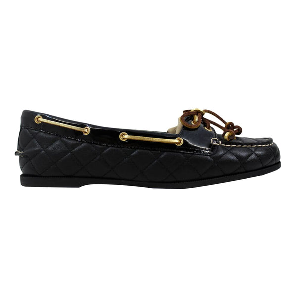 Sperry Audrey Black Quilted 9837378