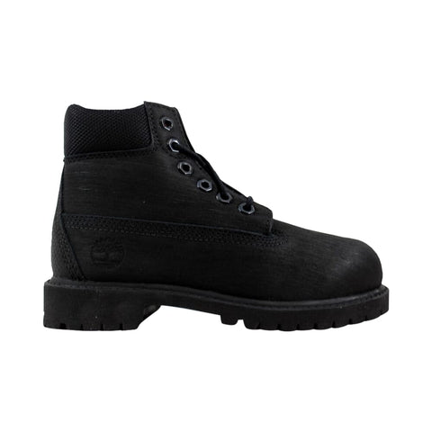 Timberland 6 Inch Premium Waterproof Boot Black 98775 Pre-School
