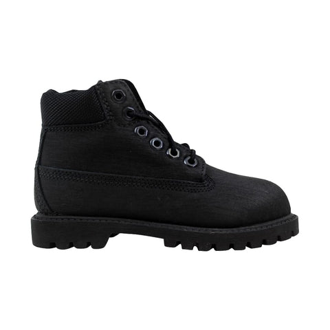 Timberland 6 Inch Premum Waterproof Black 98875 Toddler