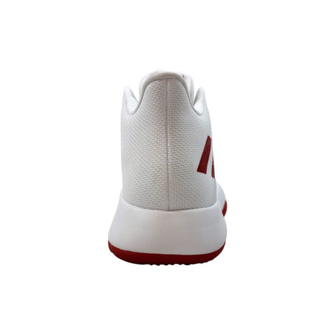 Adidas SM Mad Bounce NBA/NCAA WH Footwear White/Scarlet-Grey Two  AC7238 Men's