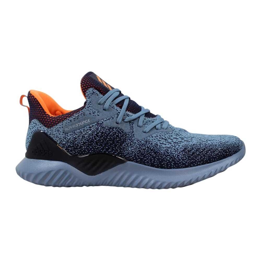 Adidas Alphabounce Beyond M Raw Grey / Hi-Res Orange / Legend Ink  AQ0574 Men's