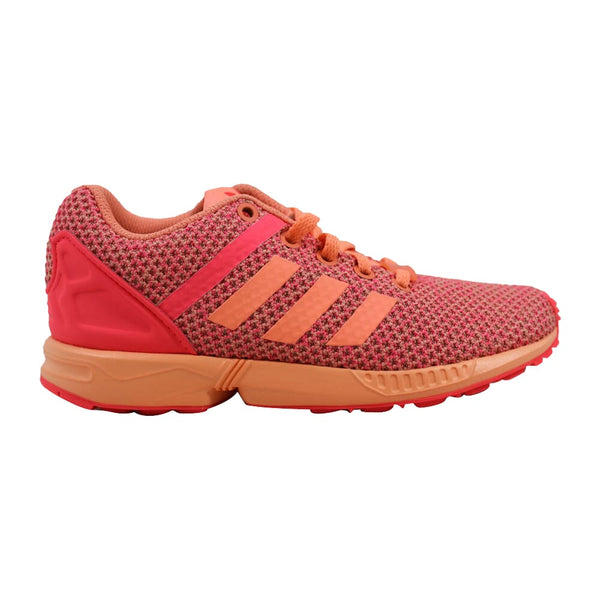 Adidas ZX Flux Split K Sun Glow/Red AQ6292 Pre-School