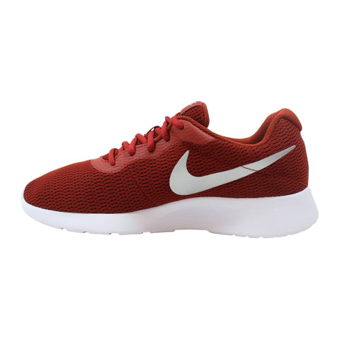 Nike Tanjun Dune Red/Metallic Silver-White  AQ7154-601 Men's