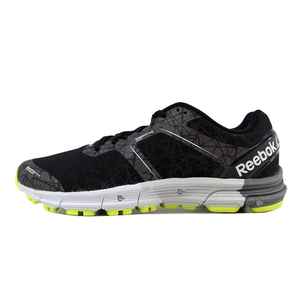 Reebok One Cushion 3 Nite Black/Alloy-Green-Yellow-White AR2820 Men's