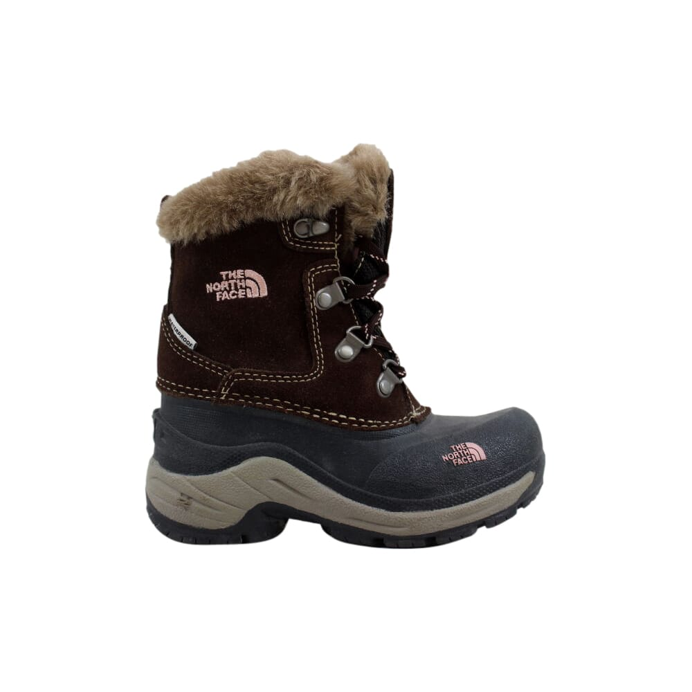 The North Face Mcmurdo Boot Brownie Brown/Pink Lemonade  AV5YC59-10 Pre-School