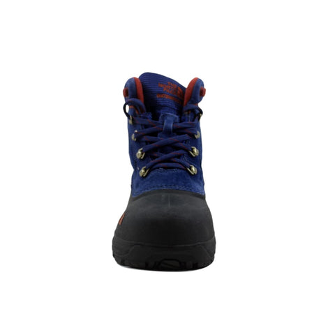 The North Face Chilkat Lace Midline Blue/Burnt Henna Brown AX0YV3B Grade-School