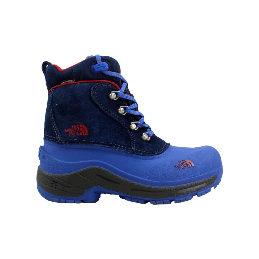 The North Face Chilkats Lace Deep Water Blue/Jake Blue AX0YXP5 Pre-School