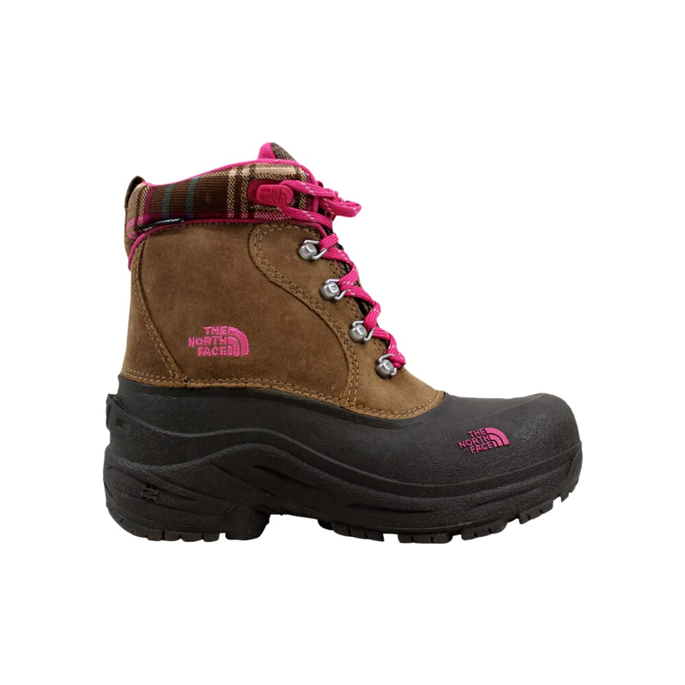 The North Face Chilkats Lace Sepia Brown/Demitasse Brown  AX0ZG3G Pre-School