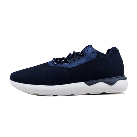 Adidas Tubular Runner Weave Navy Blue/navy Blue-white  B25596 Men's