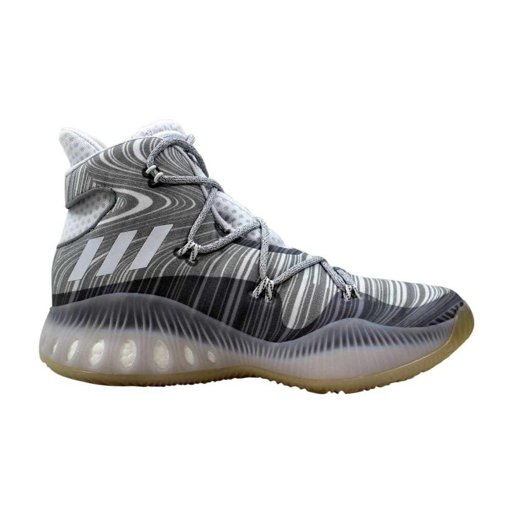 Adidas Crazy Explosive Footwear White/Solid Grey  B42424 Men's