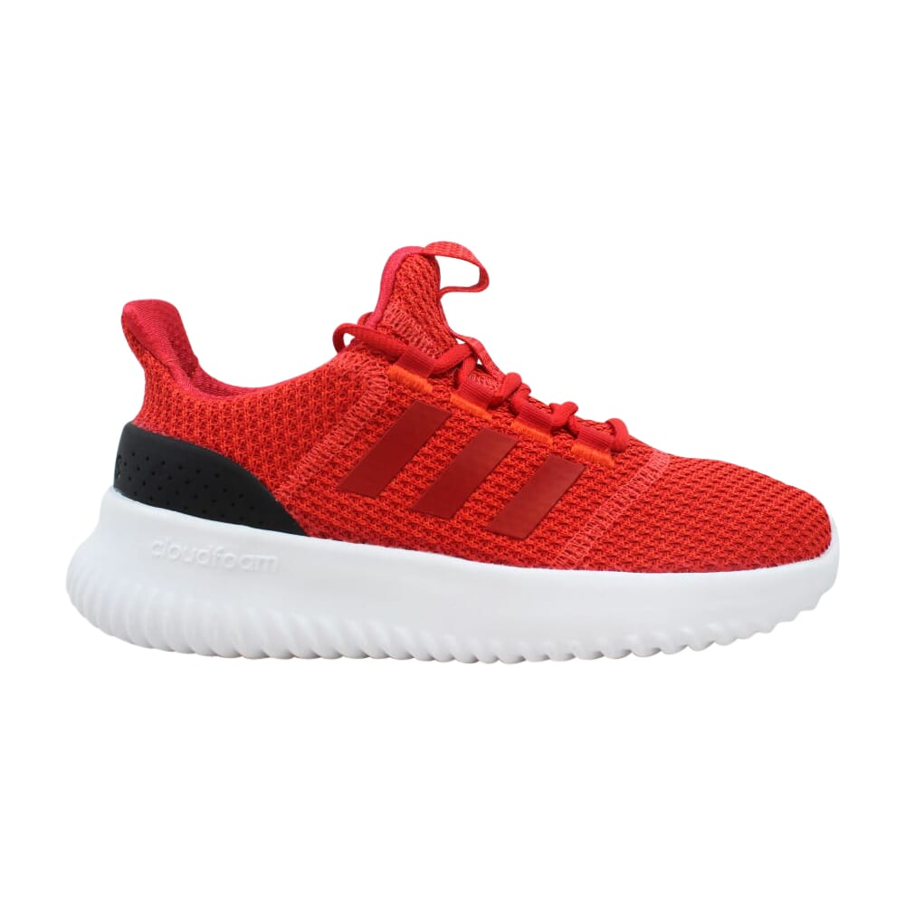 Adidas Cloudfoam Ultimate Red/Scarlet-Black  B75675 Grade-School