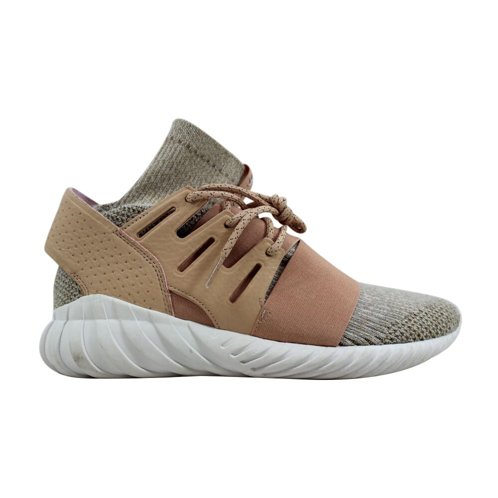 Adidas Tubular Doom Primeknit Pale Nude/Clear Brown-Vintage White BB2390