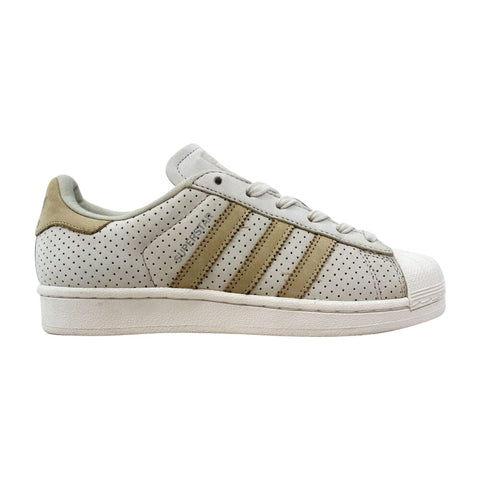 Adidas Superstar Fashion J Clear Brown/Linen Khaki-Chalk White  BB2525 Grade-School