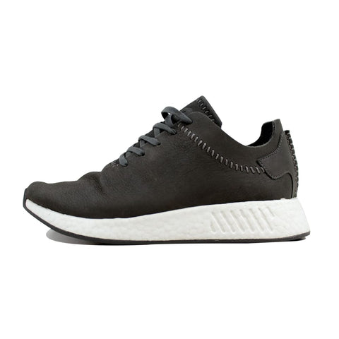 Adidas WH NMD R2 Ash/Ash-Off White Wings And Horns Leather BB3117 Men's