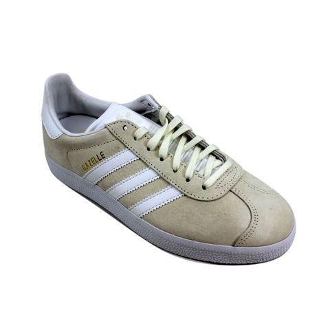Adidas Gazelle Off White/White-Gold Metallic  BB5475 Men's