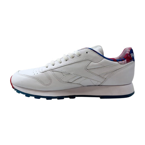 Reebok Classic Leather MSP White/Horizon Blue-Pink  BD4888 Men's