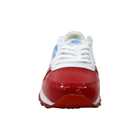 Reebok Classic Leather Dessert Pack Primal Red/White-Teal  BS7245 Grade-School