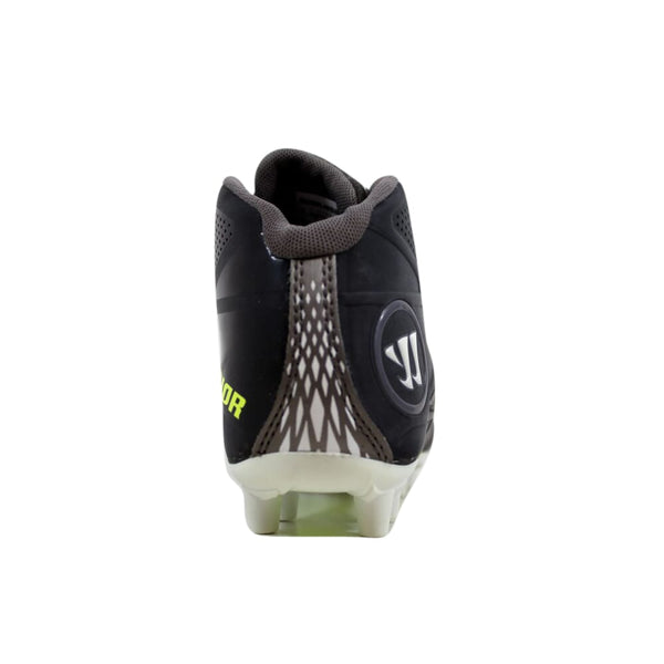 Warrior Burn Black/White-Green BURNJ8BB Grade-School