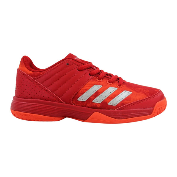Adidas Ligra 5 K Scarlet Red/Energy-Silver Metallic BY1859 Pre-School