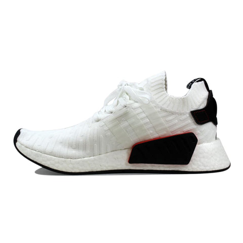 Adidas NMD R2 Primeknit White/Black  BY3015 Men's