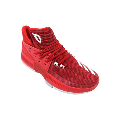 Adidas Dame 3 Power Red/Footwear White-Grey Two  BY3192 Men's