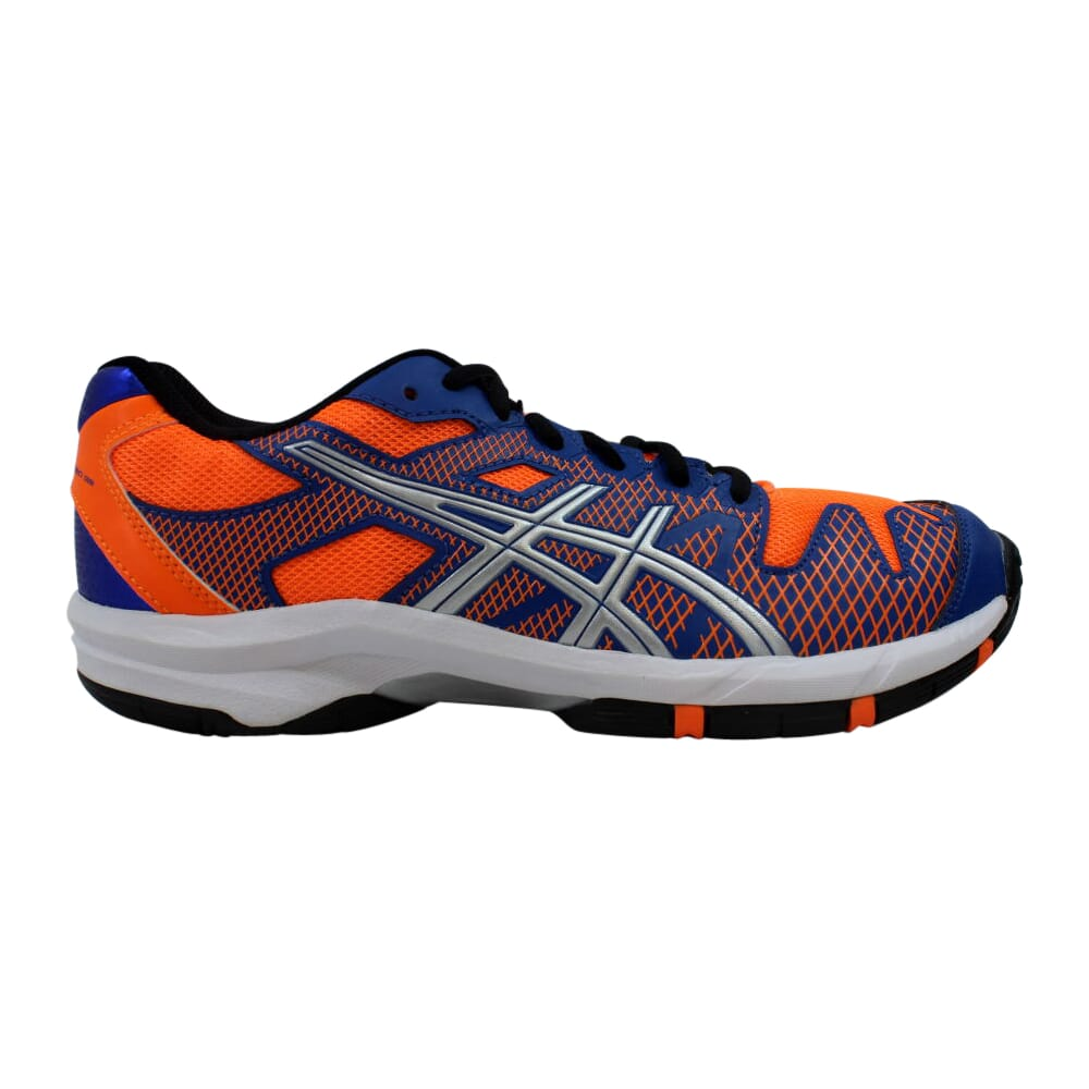 Asics Gel Solution Speed 2 GS Blue/Flash Orange-Silver  C431Y-4230 Grade-School