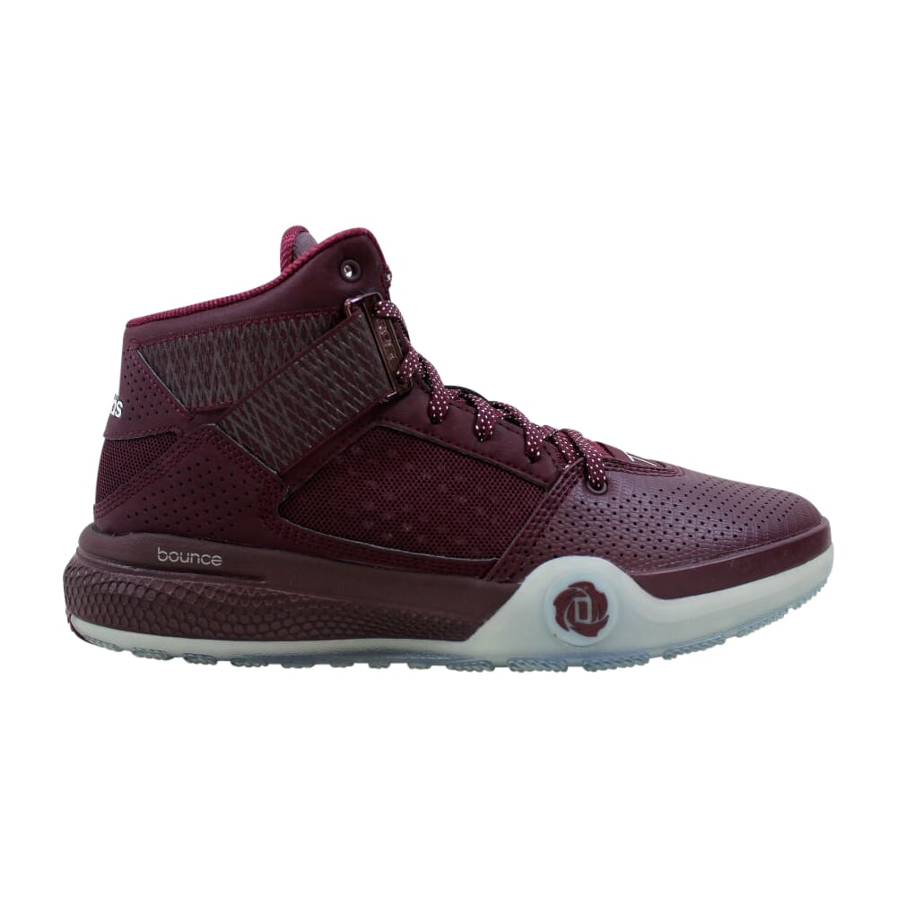 Adidas D Rose 773 IV Maroon/Footwear White-Maroon  D69430 Men's