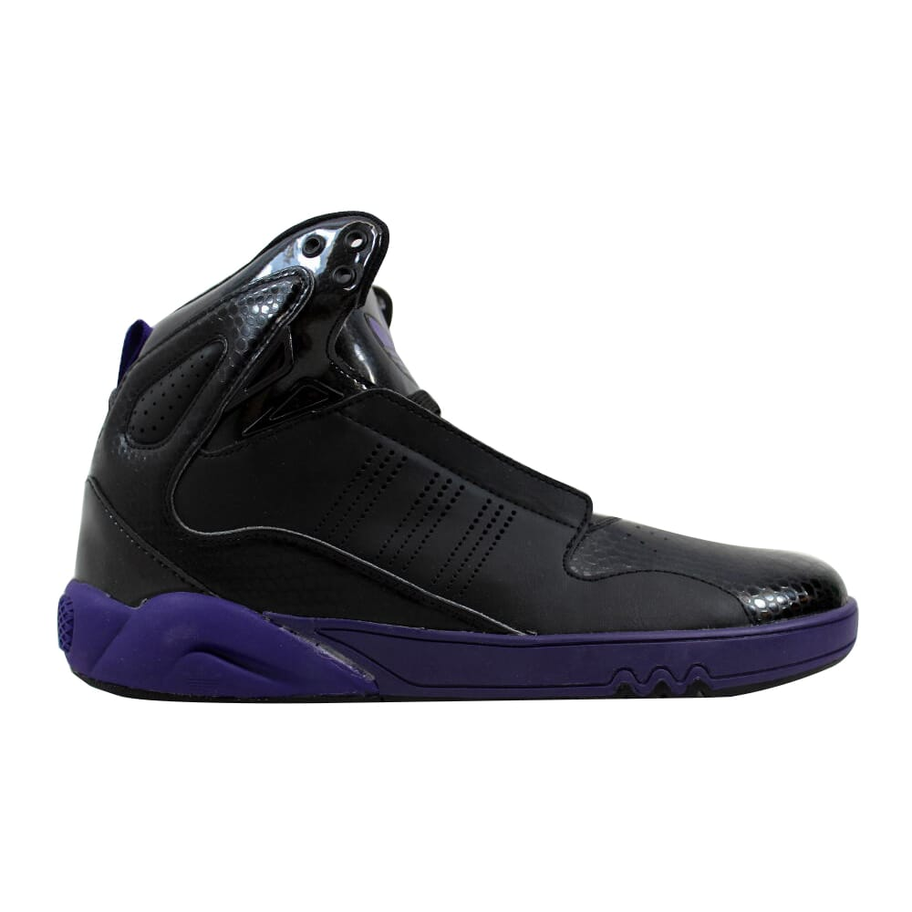 Adidas Roundhouse Mid 2.0 Black/Purple G56231 Men's
