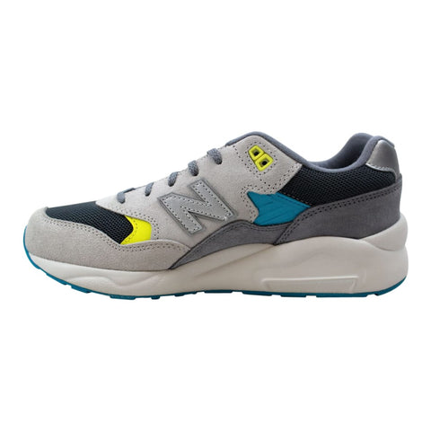 New Balance 580 Boys Grey/Yellow-Blue  KL580GYG Grade-School