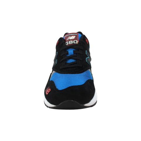 New Balance 580 Elite Pinball Suede Black/Blue-Red  MRT580BF Men's