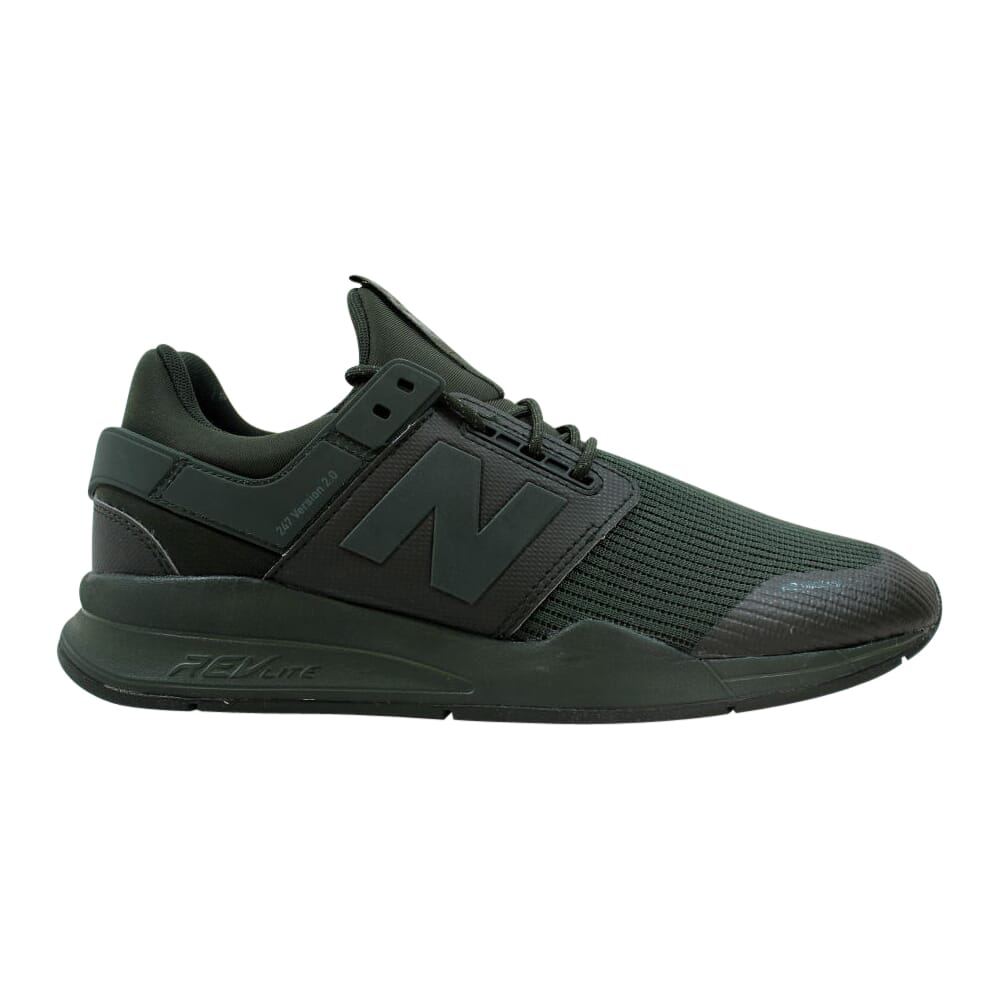 New Balance 247 Mens Faded Rosin/Forest Green  MS247NDA Men's