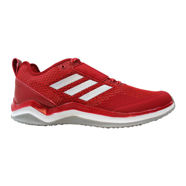Adidas Speed Trainer 3.0 Red/Metallic Silver-White  Q16542 Men's