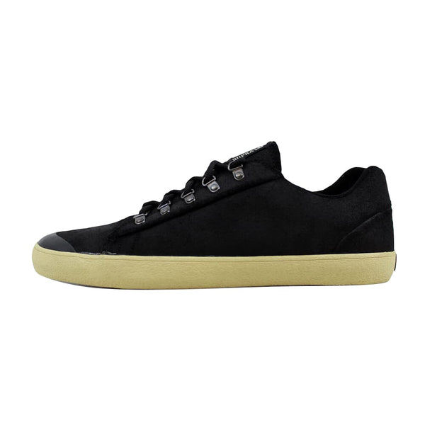 Supra Assault Black Waxed Suede S02047 Men's