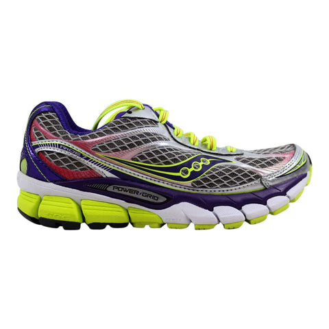 Saucony Ride 7 Silver/Purple-Citron S10241-2 Women's