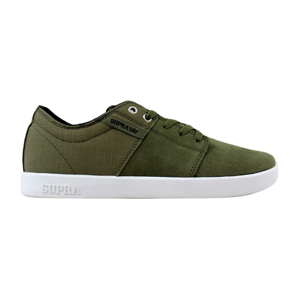 Supra Stacks Olive/Black-White S44090 Men's
