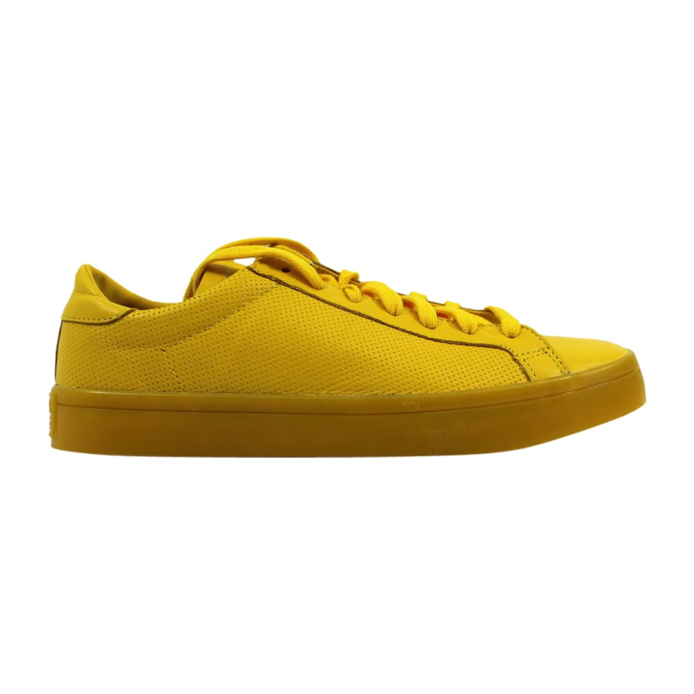 Adidas Court Vantage Adicolor Yellow/Yellow  S80254 Men's