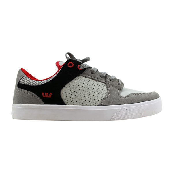 Supra Vaider LC Light Grey/Black-Red-White S86006 Men's