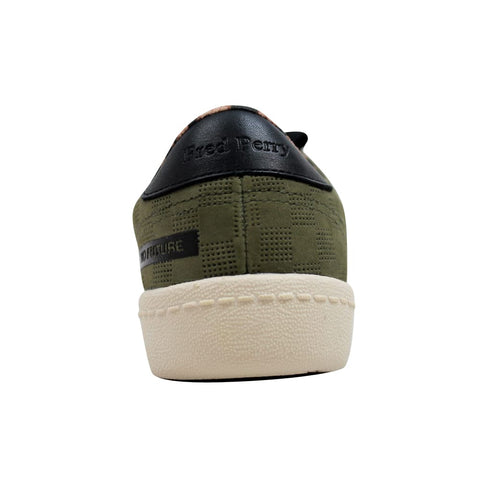 Fred Perry Bodega Reissue Tennis Shoe 2 Olive SB7060 Men's