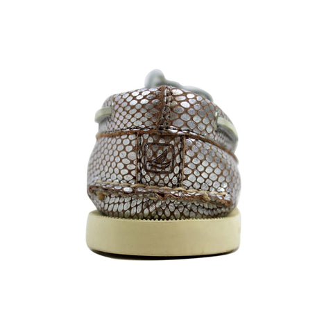 Sperry Authentic Original Python Silver Silver STS93529