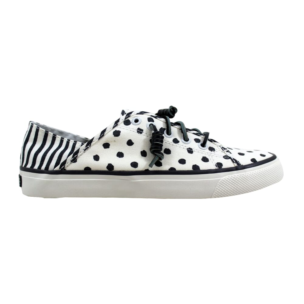 Sperry Seacoast Isle Dot Grey Polka Dot STS96980