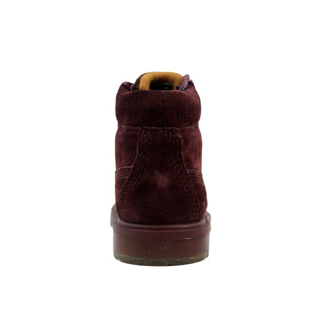 Timberland 6 Inch Premium Suede Dark Red TB0A1BLF Toddler