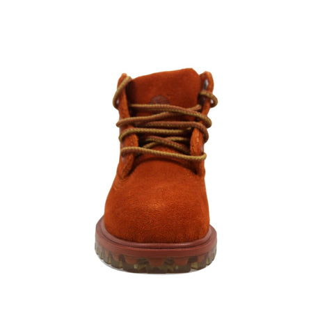 Timberland 6 Inch Premum Waterproof Orange Rust TB0A1BLQ Toddler