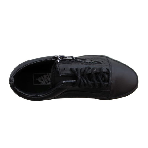 Vans Old Skool Zip Black/Black Gun Metal VN00018GJTL Men's