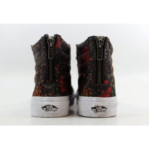 Vans SK8 Hi Slim Zip Floral Leather Multi Color VN000XH8JR1 Men's