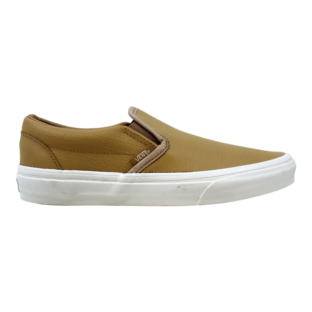Vans Classic Slip On Embossed Leather Tan  VN0A38F7MU1 Men's