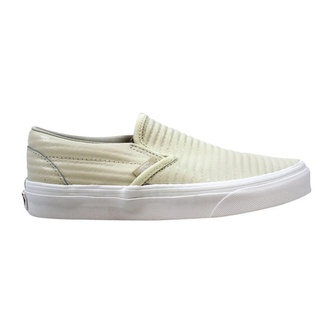 Vans ClassicSlip On Moto Leather Birch  VN0A38F7OG8 Men's