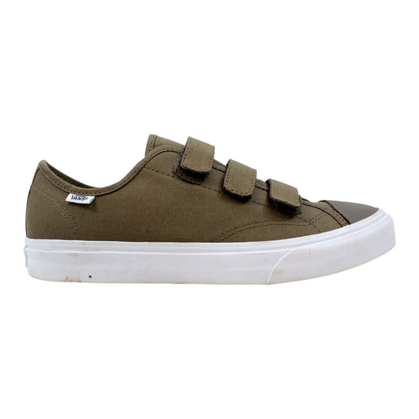 Vans Style 23 V Walnut/True White Canvas VN0A38GCMXO Men's